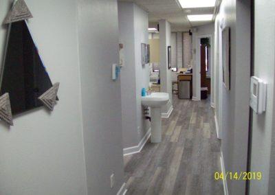 Front hallway.