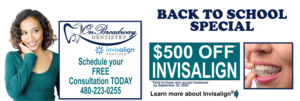 Invisalign offer - $500 OFF!